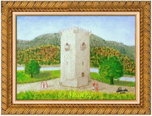 04 - Torre Medieval Óleo Sobre Tela.JPG