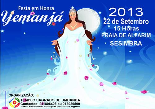 Conheça o Evento - Festa Yemanjá
