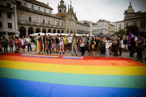 Braga Orgulho gay lgbti marcha