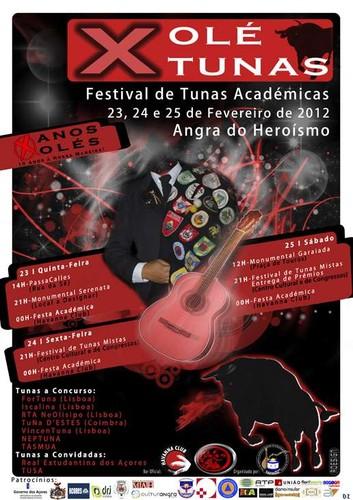 E sai mais um festival de tunas, em Angra...