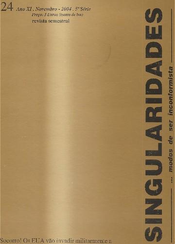 Poesia publicada semestralmente desde 2004 até ao presente