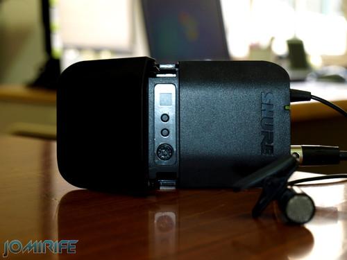 Microfone lapela Shure BLX1 Bodypack Transmitter