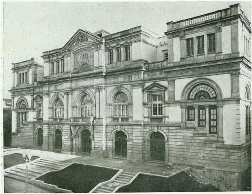 Antiga Faculdade de Letras. Início dos anos 40.jp