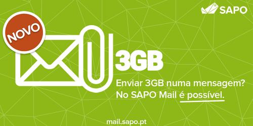 SAPO Mail - Anexos SAPO Transfer
