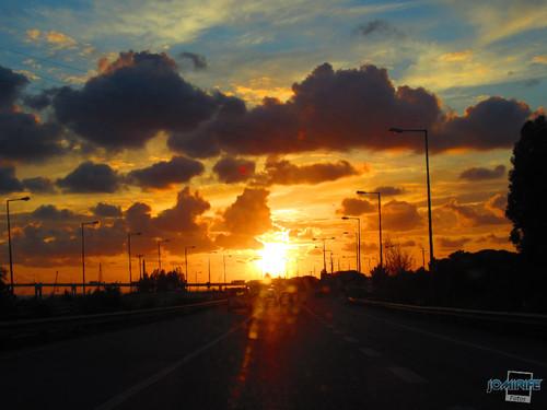 Pôr-do-sol na Figueira da Foz - Estás radiante