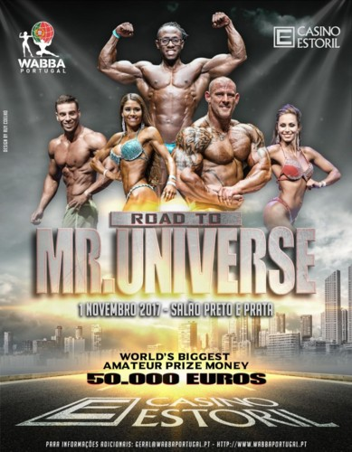 Casino Estoril acolhe o Road to Mr Universe da WAB
