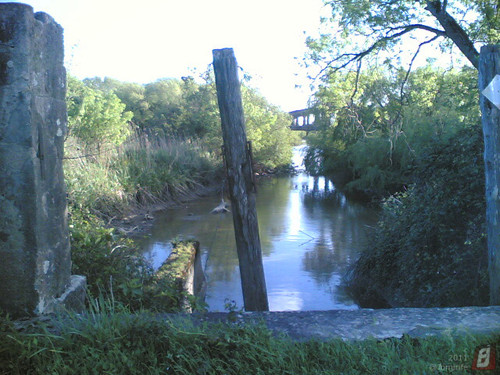 Antiga comporta de água para terrenos em Maiorca