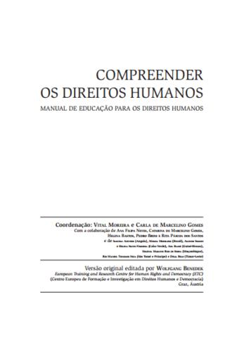 Compreender os direitos humanos - Manual de educação para os direitos humanos | e-Book