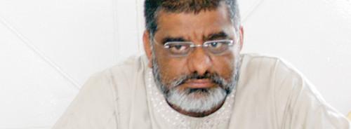 Rafik Sidat, presidente da Liga Muçulmana