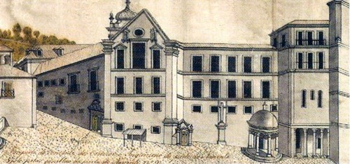 Mosteiro de Santa Cruz, portaria do carro.jpeg