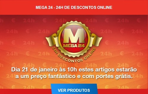 Mega24 | WORTEN | amanhã 21 janeiro