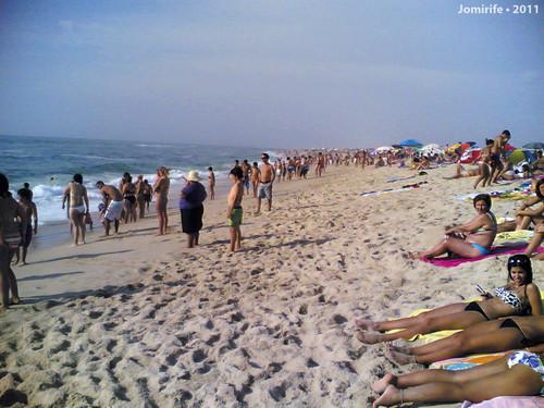 Domingo na praia da Tocha