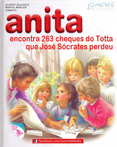 Anita encontra 263 cheques José Sócrates Totta