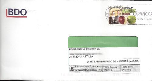 carta espanha