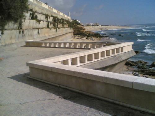 Praia no cabo Mondego Buarcos/Figueira da Foz