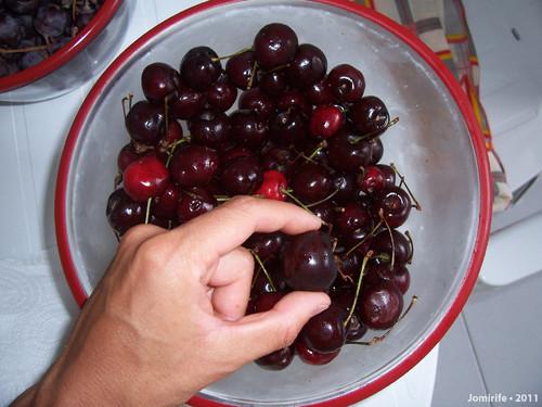 Grandes cerejas