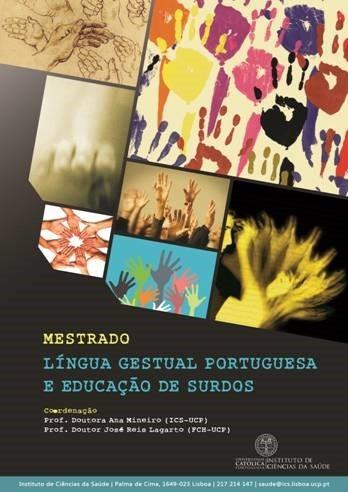 Mestrado LIngua Gestual Portuguesa e educaçao par