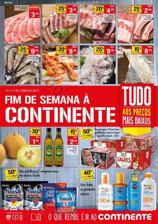 Antevisão Folheto CONTINENTE Fim de semana 14 a 1