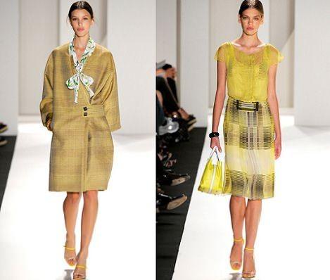 Desfile de Moda Coleção Carolina Herrera Primavera Verão