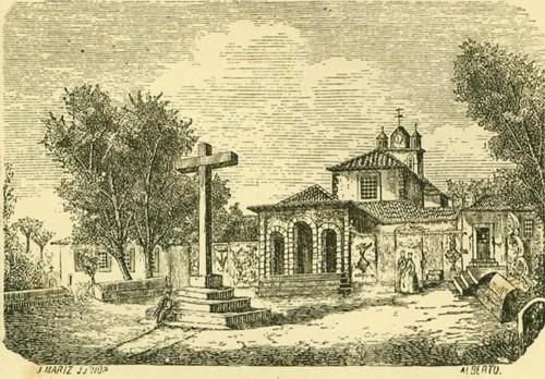 Convento do Buçaco antes da construção do Hotel