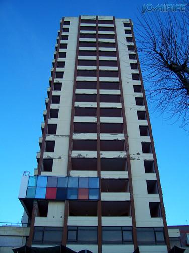 Sweet Hotel Atlântico da Figueira da Foz degradado em 2004 (4) Sweet Atlantic Hotel in Figueira da Foz degraded in 2004