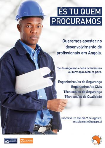 RECRUTAMENTO PARA ANGOLA