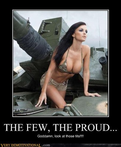 The Few, The Proud...