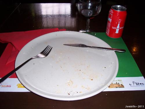 Pizza Bolonhesa (prato vazio)