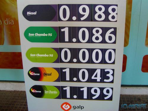 Preço dos combustíveis em 2007