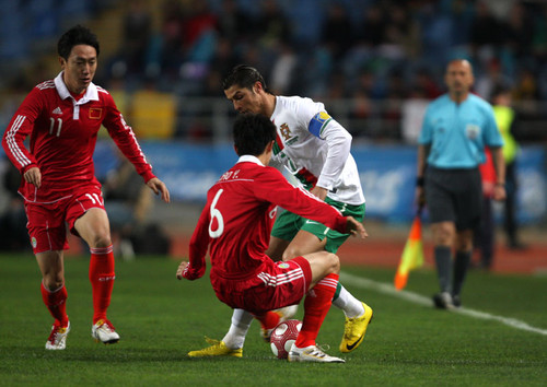 Portugal - China (03/03/10)