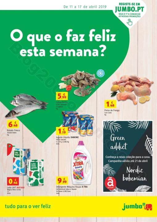 Antevisão Folheto JUMBO Promoções de 11 a 17  a
