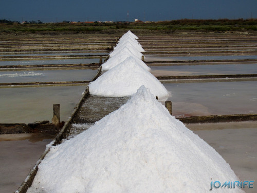 Salinas da Figueira da Foz (12) Montes de sal [en] Salt fields of Figueira da Foz in Portugal