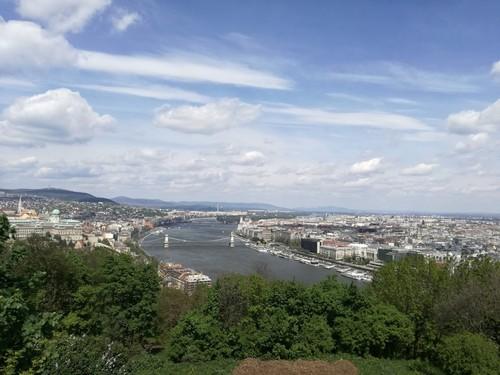 Citadela, onde se tem uma paisagem incrível da cidade
