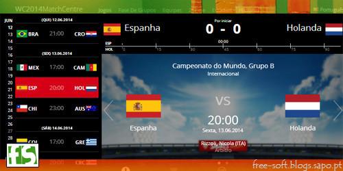 Ver ao vivo os jogos da copa campeonato mundial de futebol brasil 2014