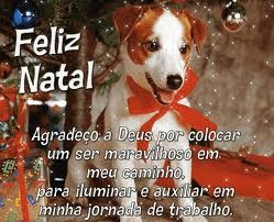 Feliz Natal Eu Gosto De Animais