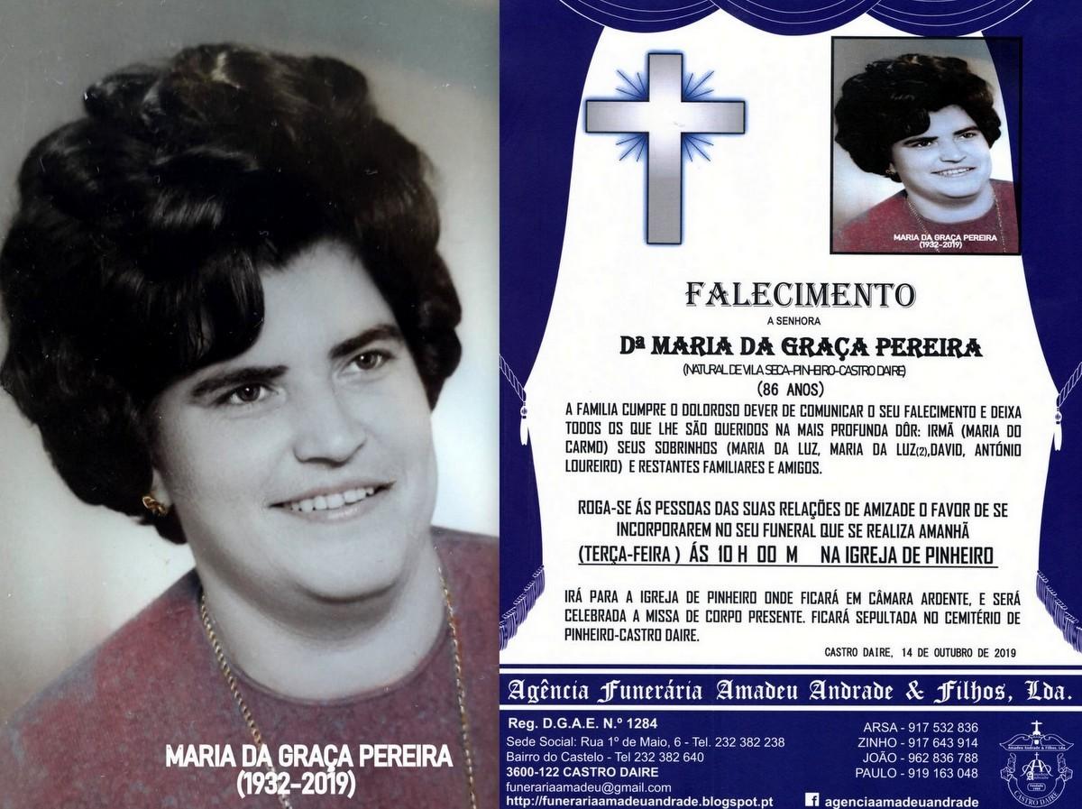 FOTO RIP DE MARIA DA GRAÇA PEREIRA-86 ANOS (VILA