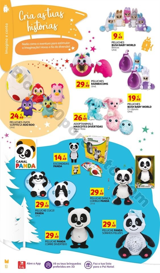 Antevisão Catálogo JUMBO Brinquedos Natal promo
