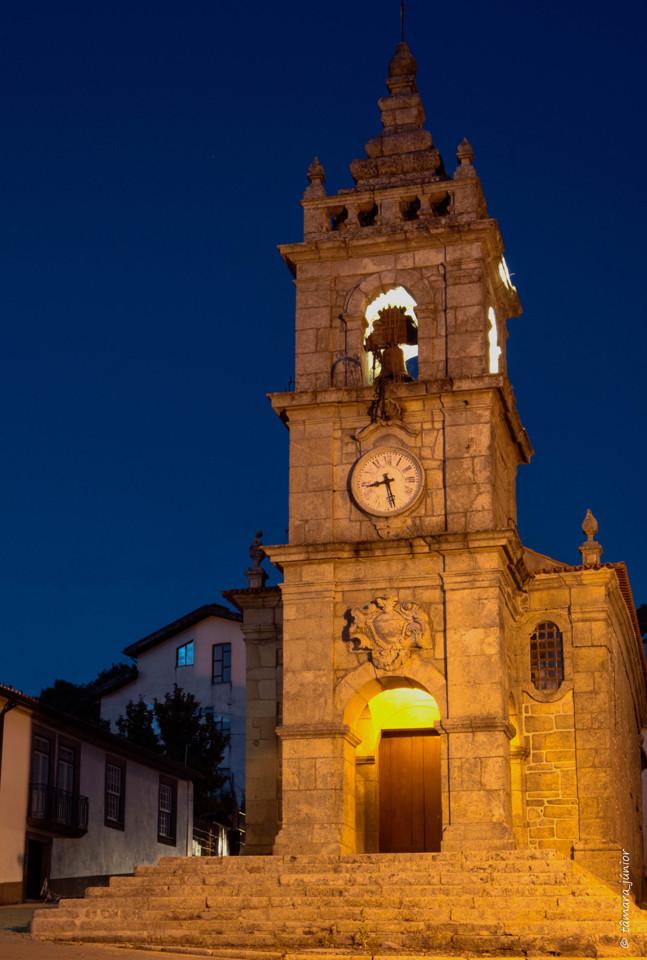2017.- Fotografia noturna - Vila Pouca de Aguiar (