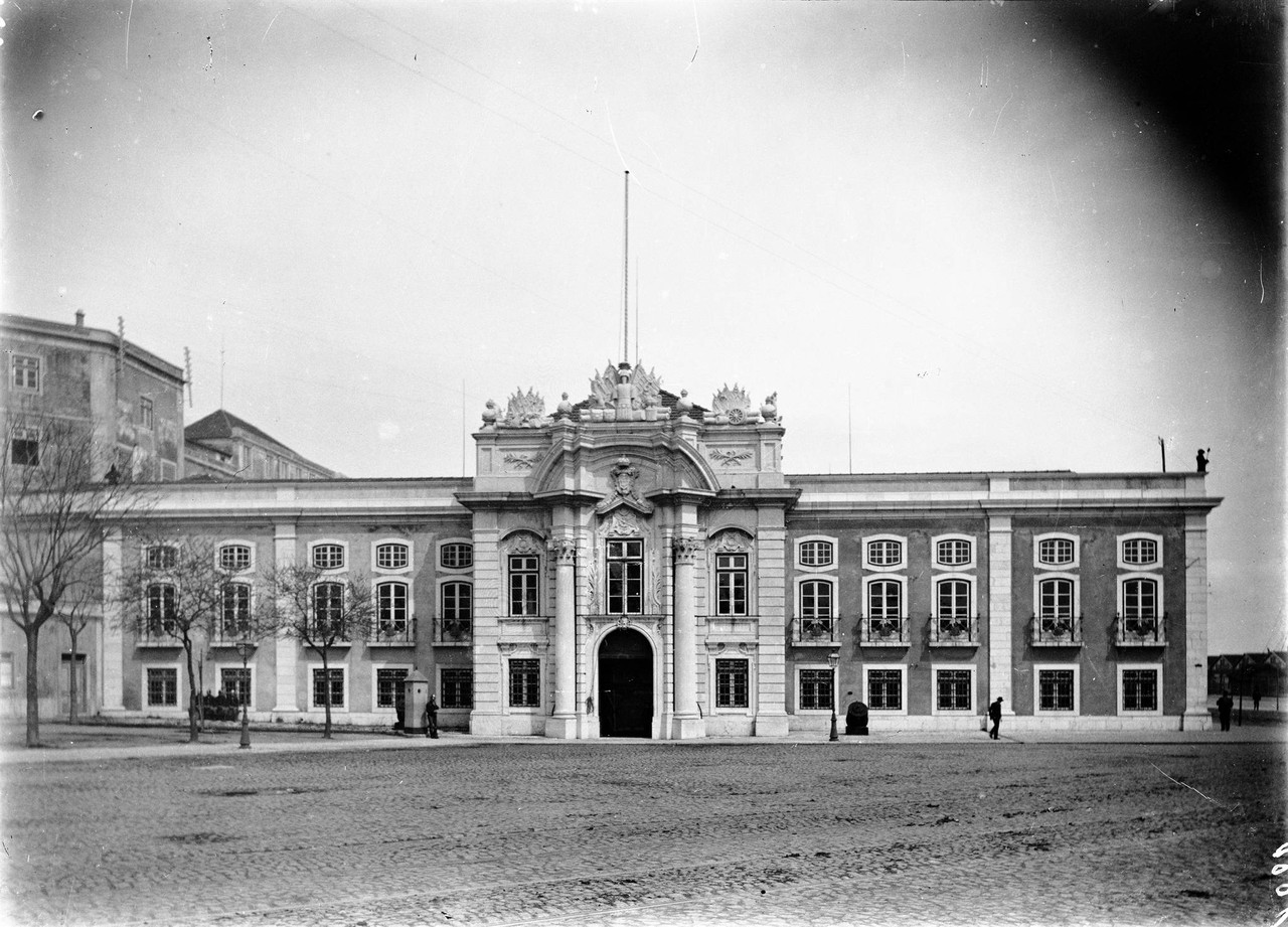 Largo do Museu de Artilharia, 1906, foto de Machad