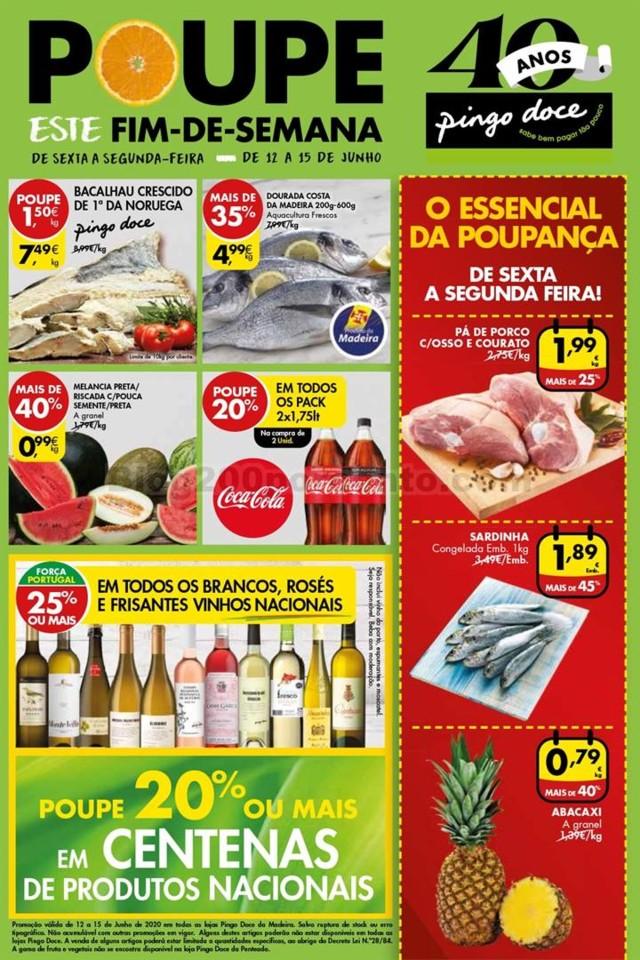 Fim de Semana Madeira PINGO DOCE 12 a 15 junho p1.