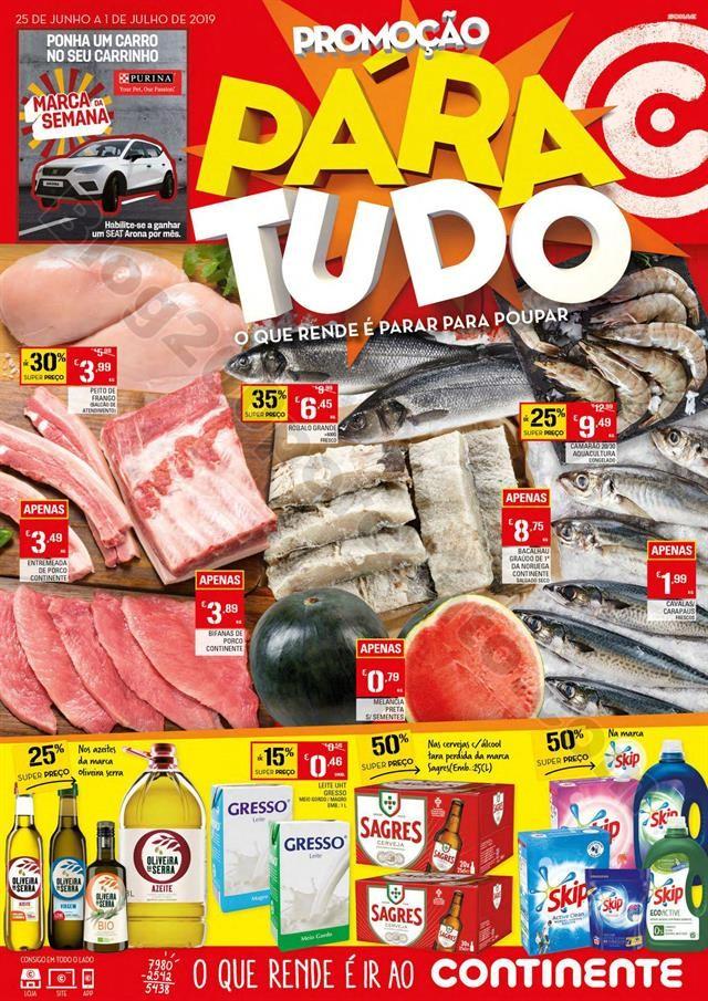 Antevisão Folheto CONTINENTE Promoções de 25 ju
