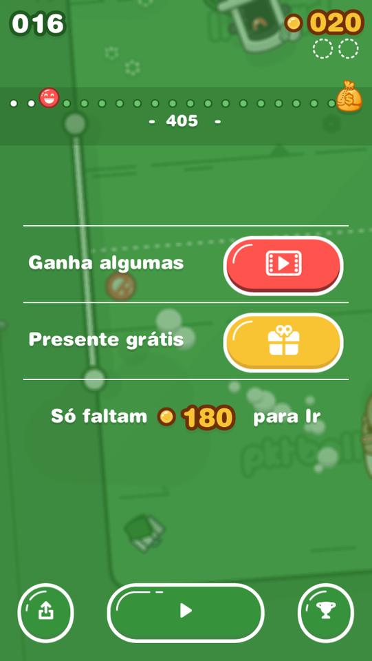 Tradução num jogo mobile