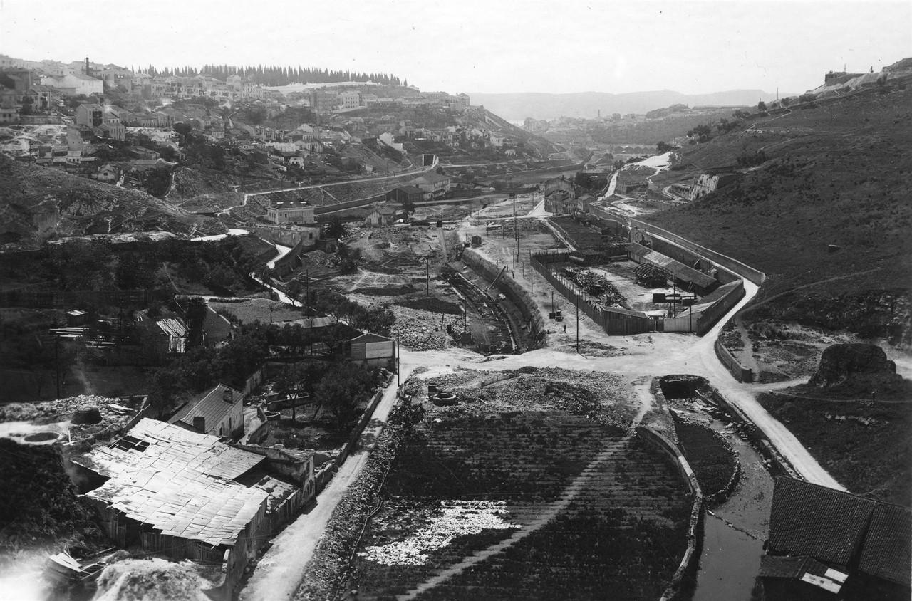 Vale de Alcântara, vista tirada do viaduto Duarte
