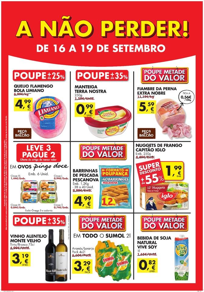 Novos Folhetos A Não Perder 16a19set