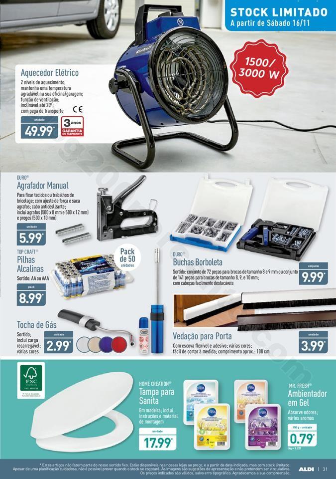 Folheto ALDI Promoções a partir de 13  novembro
