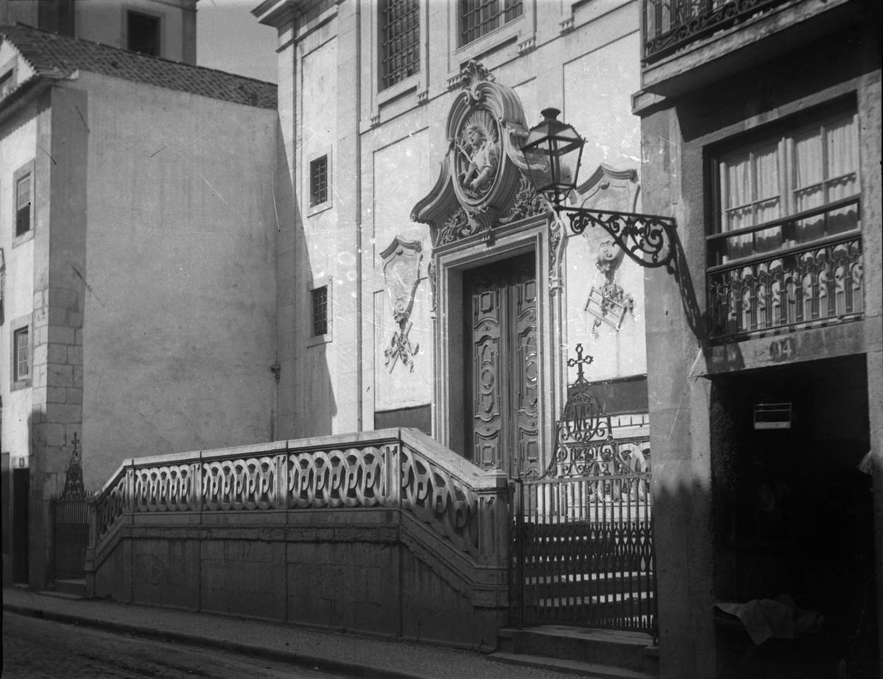 Igreja de São José dos Carpinteiros, fachada pri