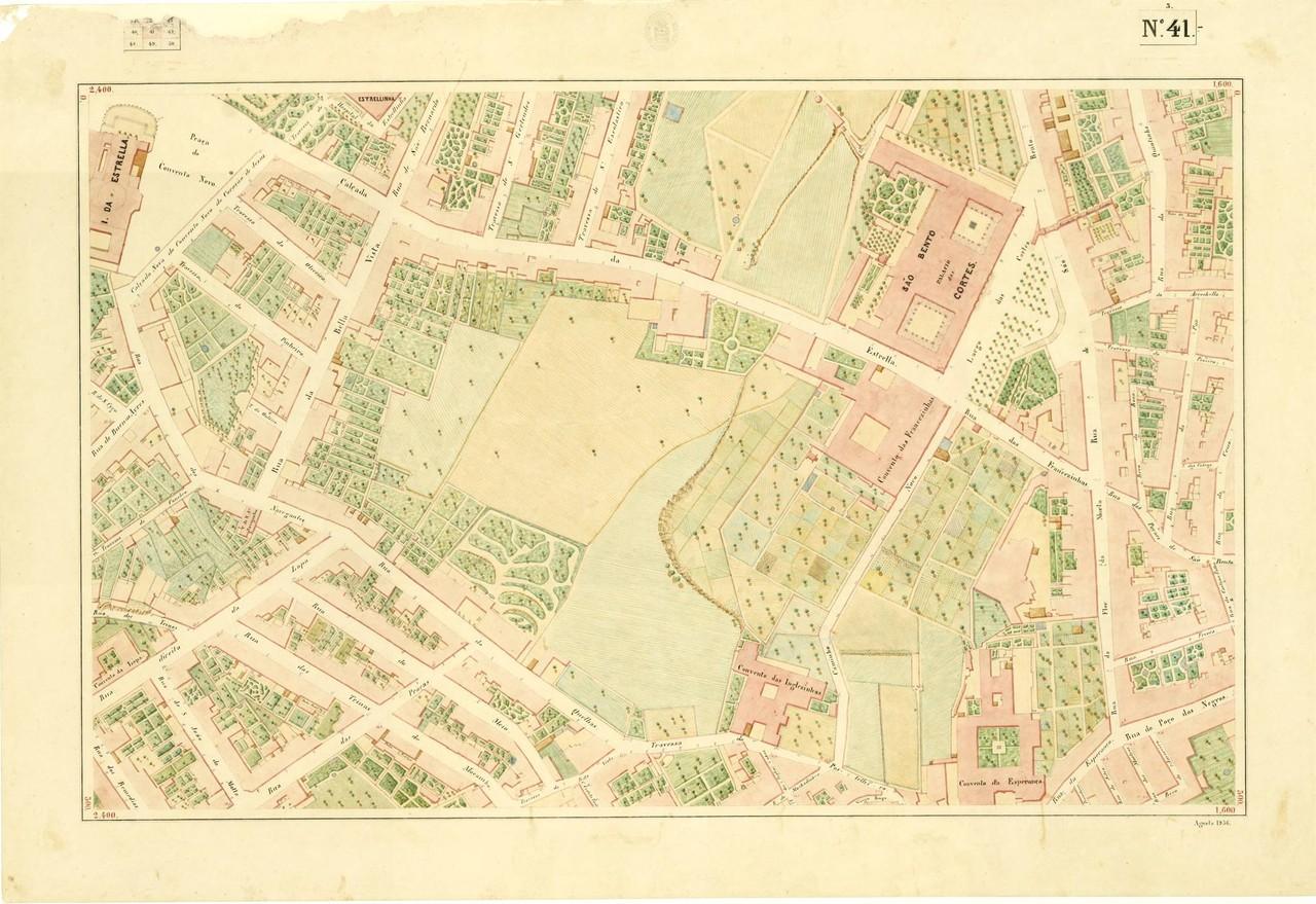 Atlas da carta topográfica de Lisboa, N.º 41, 18