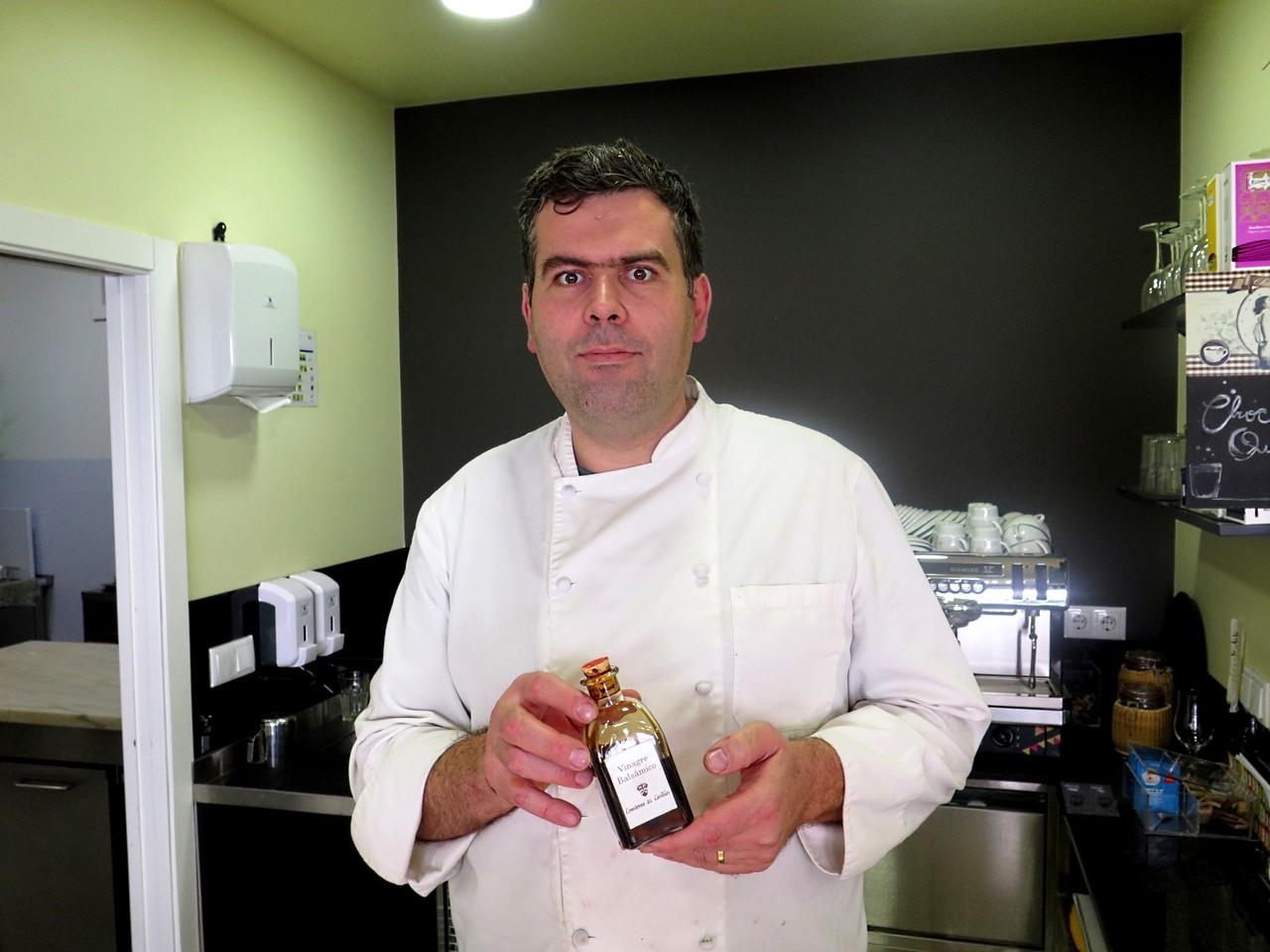 Vinagre balsâmico, um dos novos ingredientes deste ano