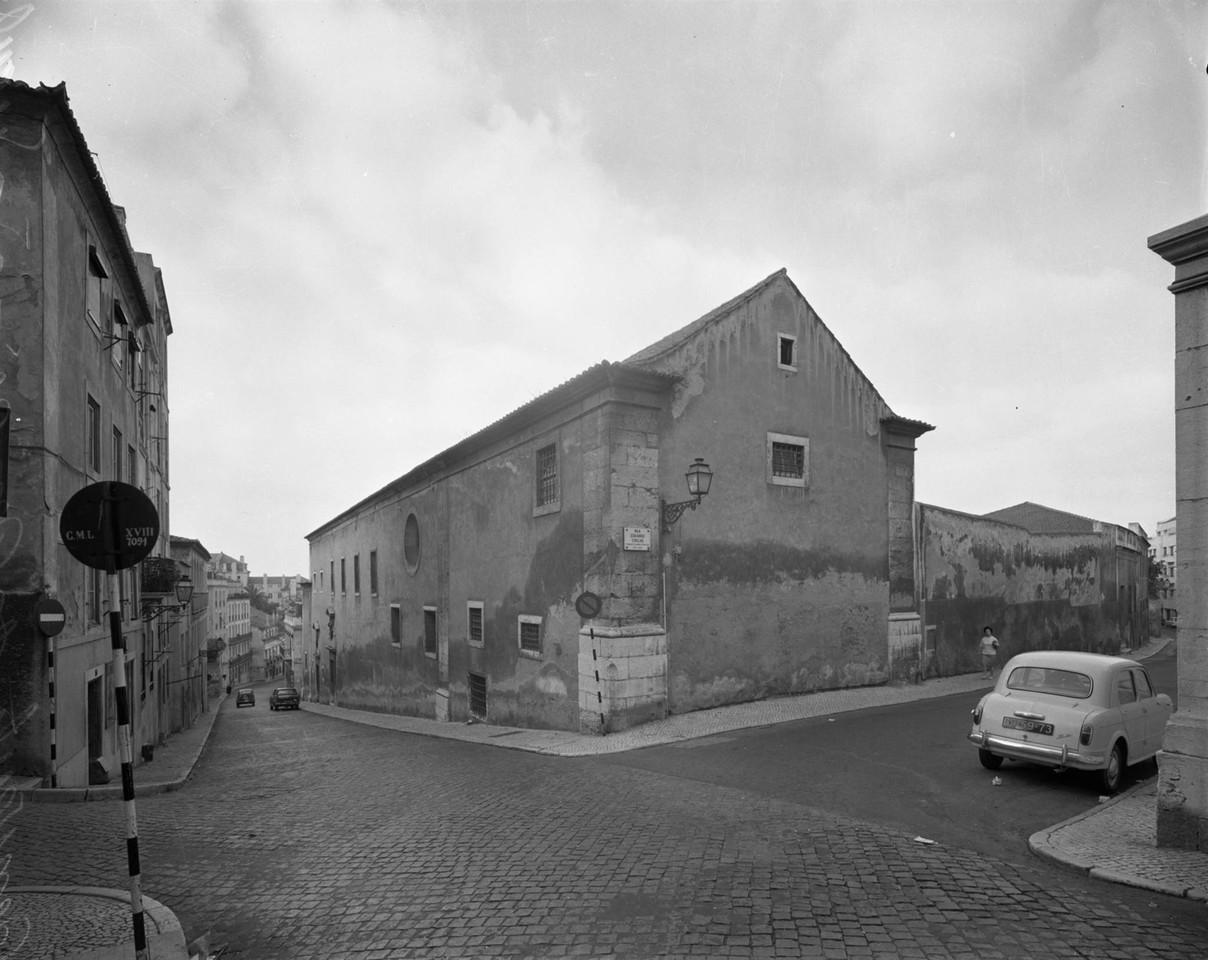 Convento dos Cardais, 1968, foto de Armando Serôd