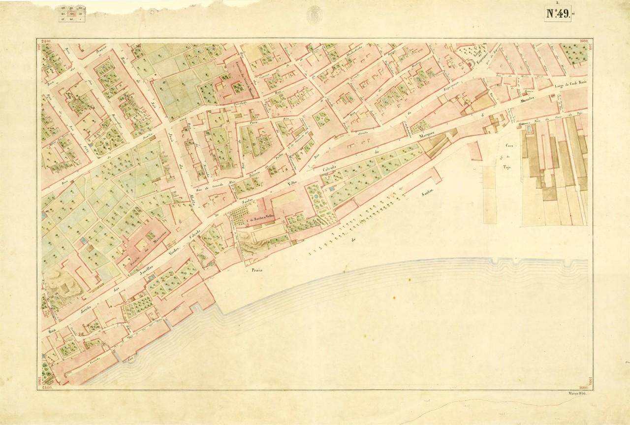 Atlas da carta topográfica de Lisboa, N.º 49, 18